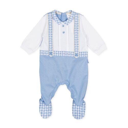 PRE ORDER SS20 Boys Tutto Piccolo Babygrow 8095
