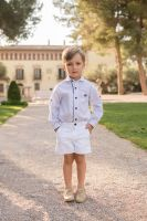 Boys Dolce Petit Navy and White Set 2255