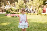 Girls Dolce Petit Mint Skirt Set 2245
