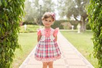Girls Dolce Petit Coral Dress 2234
