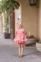 Girls Dolce Petit Coral Dress 2232