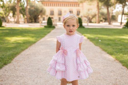 PRE ORDER SS20 Girls Dolce Petit Pink Dress 2111