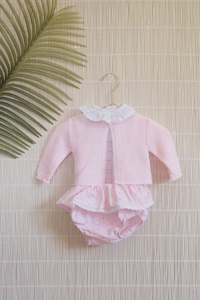 PRE ORDER SS20 Girls Dolce Petit Pink 3 Piece Set 2050