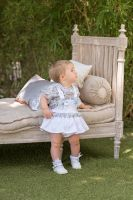 Girls Dolce Petit Blue and White Set 2125