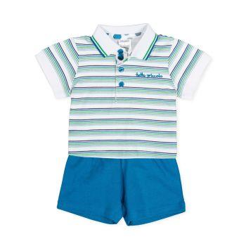 Boys Tutto Piccolo Polo Shirt and Shorts Set 8688