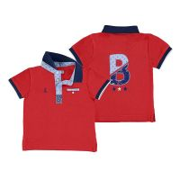 Boys Mayoral Polo Shirt 1146 - Hibiscus