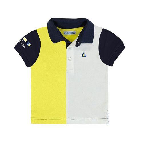 Boys Mayoral Polo Shirt 1148 - Yellow