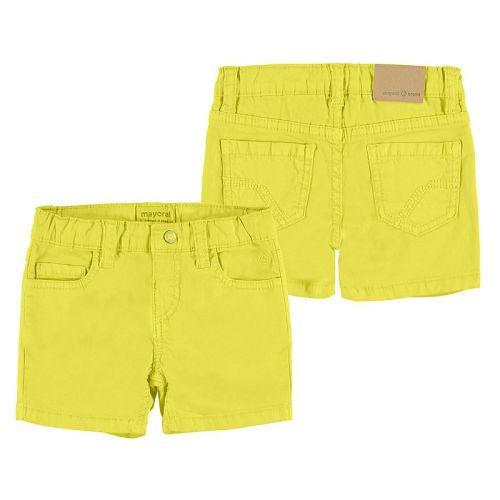 Boys Mayoral Shorts 206 - Yellow 94