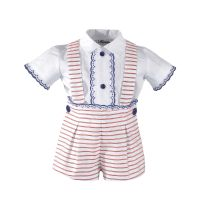 Boys Miranda Red and White Set 42