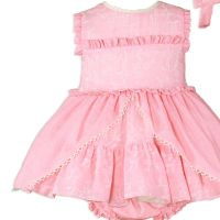 Girls Miranda Coral Dress and Pants 127