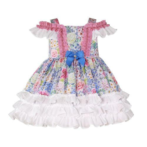 PRE ORDER SS20 Girls Miranda Floral Dress 252