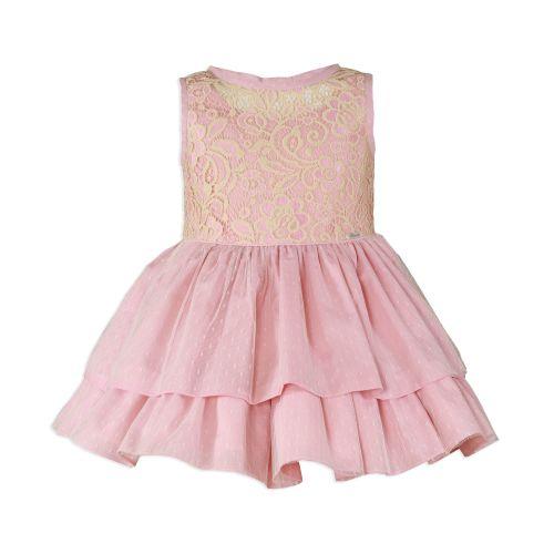 PRE ORDER SS20 Girls Miranda Pale Pink Dress 226