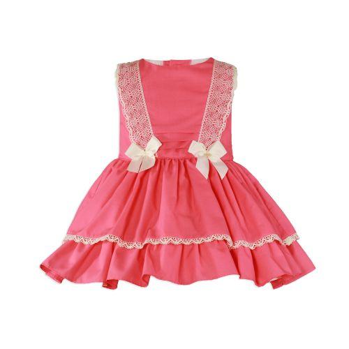 PRE ORDER SS20 Girls Miranda Coral Dress 275
