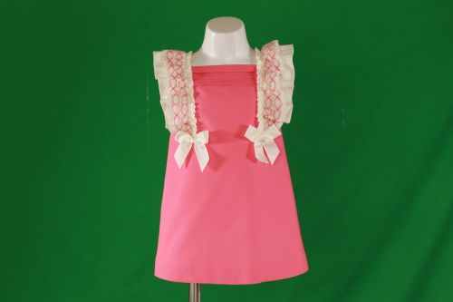 PRE ORDER SS20 Girls Miranda Coral Dress 274