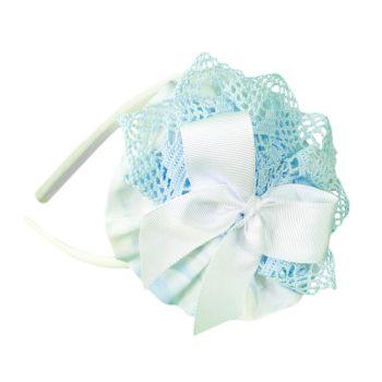Girls Miranda Blue and White Headpiece 246