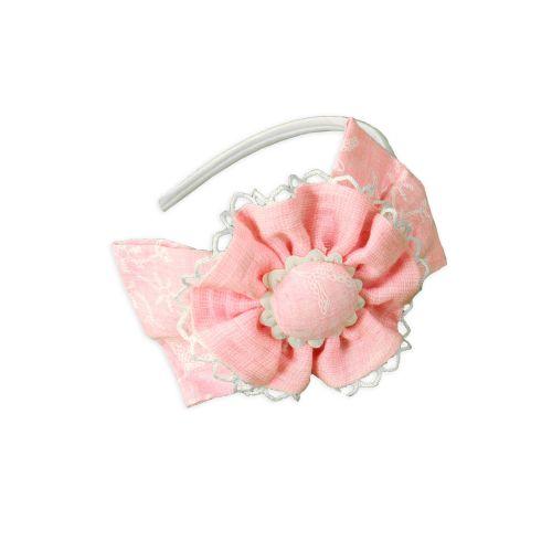 PRE ORDER SS20 Girls Miranda Pink Headpiece 227