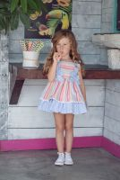 Girls Miranda Rainbow Dress 612