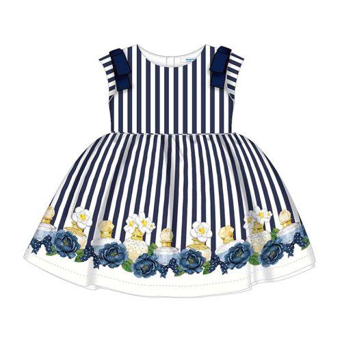 Girls Mayoral Dress 3929 Navy