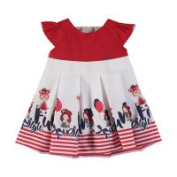 Girls Mayoral Dress 1914 Red