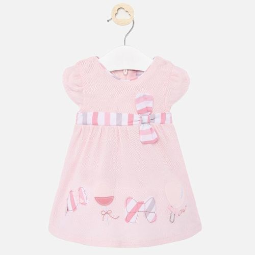 Girls Mayoral Dress 1860 - Rose 87