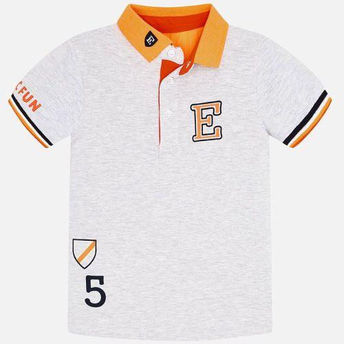 Boys Mayoral Polo Shirt 3154 - Steam