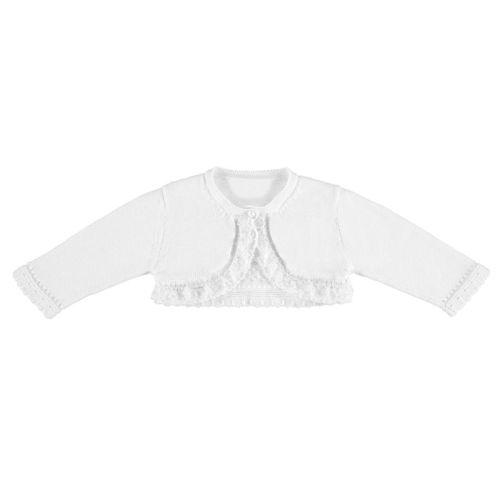 Girls Mayoral Bolero 1317 - White 59
