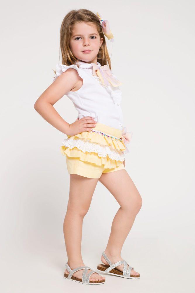 Girls Naxos Navy Skirt Set 6570 6584