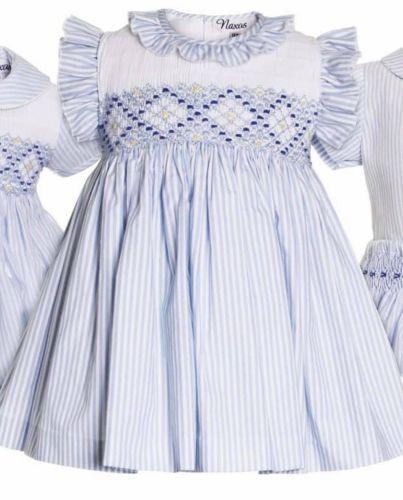 Girls Naxos Smocked Dress 6535