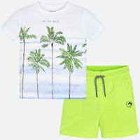 Boys Mayoral T Shirt and Shorts Set 3621