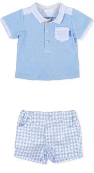 Boys Tutto Piccolo Polo Shirt and Shorts Set 8811, 8311