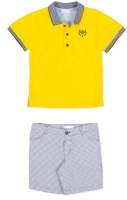 Boys Tutto Piccolo Polo Shirt and Shorts Set 8838, 8337