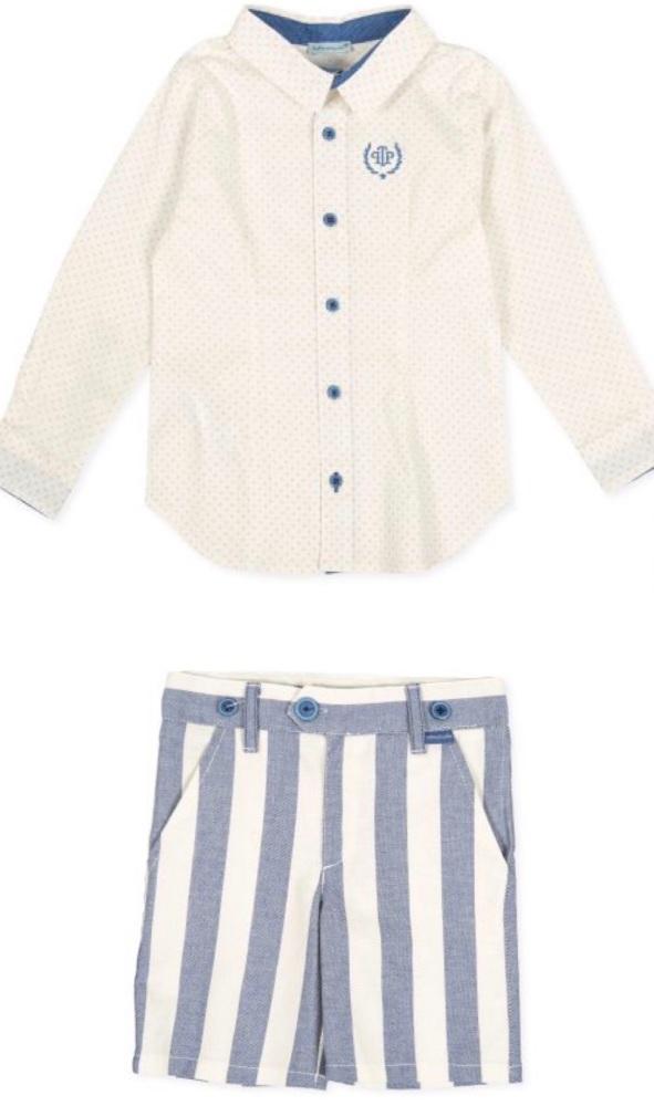 Boys Tutto Piccolo Shirt and Shorts Set 8034, 8333