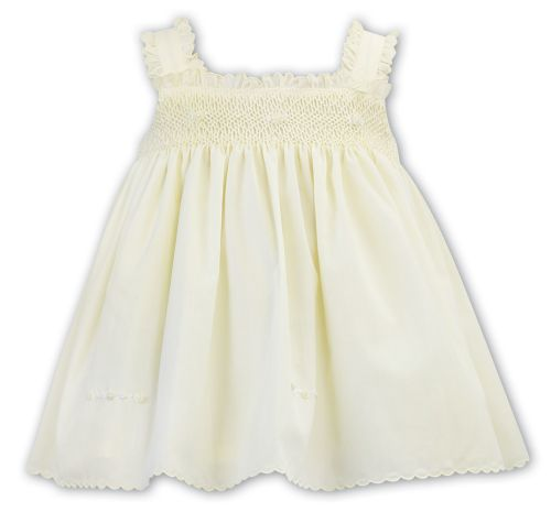 Girls Sarah Louise Dress 011851 - Lemon