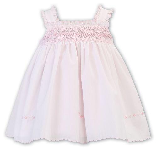 Girls Sarah Louise Dress 011851 - Pink