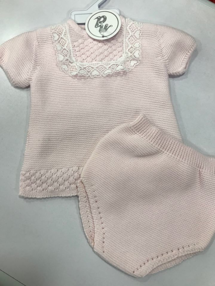 Nico Dongo Baby Pink Set