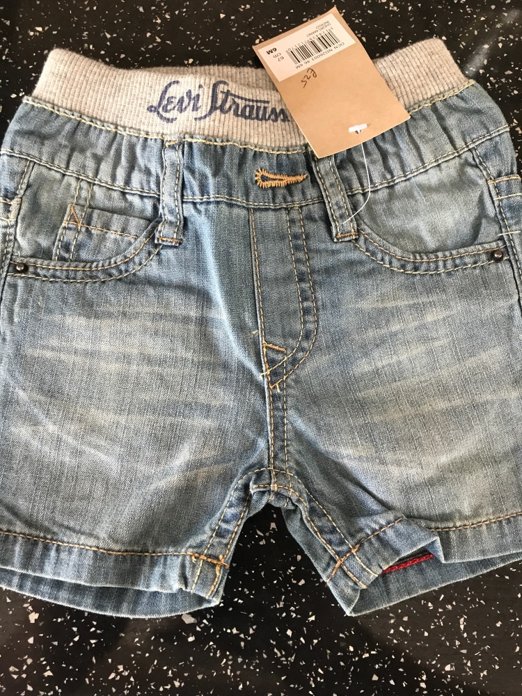Baby Boys Levis Shorts ND26003