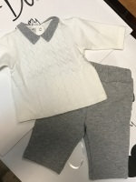CLEARANCE PRICE Boys Coccobirillo by Baby Graziella set Newborn - Was £46.95 Now Only £15