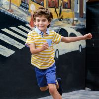 Boys Tutto Piccolo Polo Shirt and Shorts Set 8836, 8313