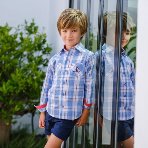 Boys Tutto Piccolo Shirt and Shorts Set 8041, 8313