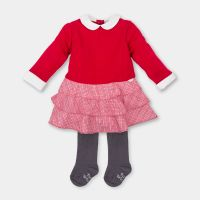 CLEARANCE PRICE Girls Tutto Piccolo Dress and Tights 12m
