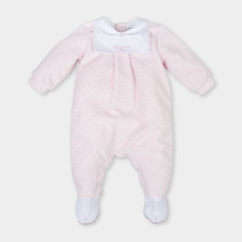 CLEARANCE PRICE Unisex Tutto Piccolo White Babygrow 18m