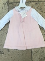 CLEARANCE PRICE Girls Dani Pinafore Dress and Blouse 12m