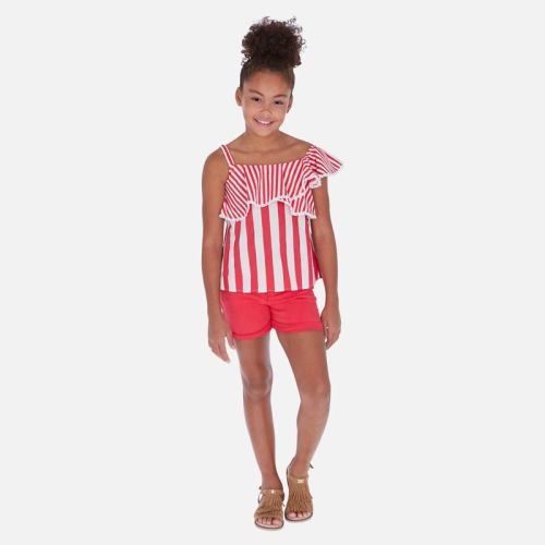 Girls Mayoral Top and Shorts Set 6168 275
