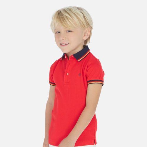 Boys Mayoral Polo Shirt and Shorts Set