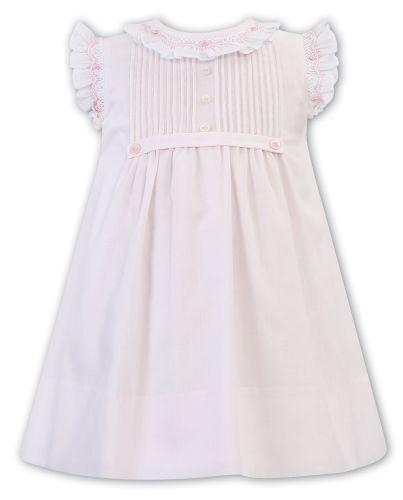 Girls Sarah Louise Dress 011838 Pink