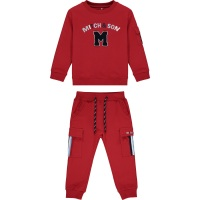 Boys Mitch & Son Connor Tracksuit MS1451 Chilli Red