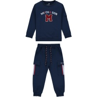 Boys Mitch & Son Connor Tracksuit MS1451 Navy