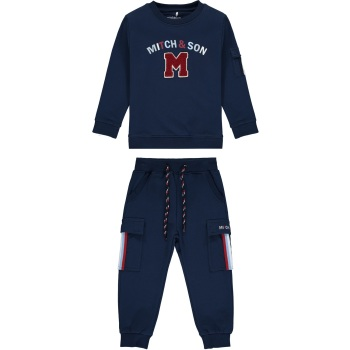 Boys Mitch & Son Connor Tracksuit MS1451 Navy - 12m only
