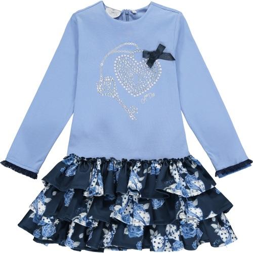 PRE ORDER AW20/21 Girls A*Dee Blues Harlie Dress W204715