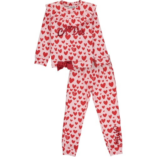PRE ORDER AW20/21 Girls A*Dee Queen of Hearts Emilia Tracksuit W201503